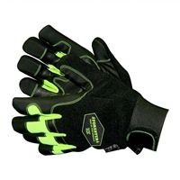 Forester High Vis Yellow Chainsaw Gloves
