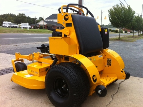 wright stander x commercial mower