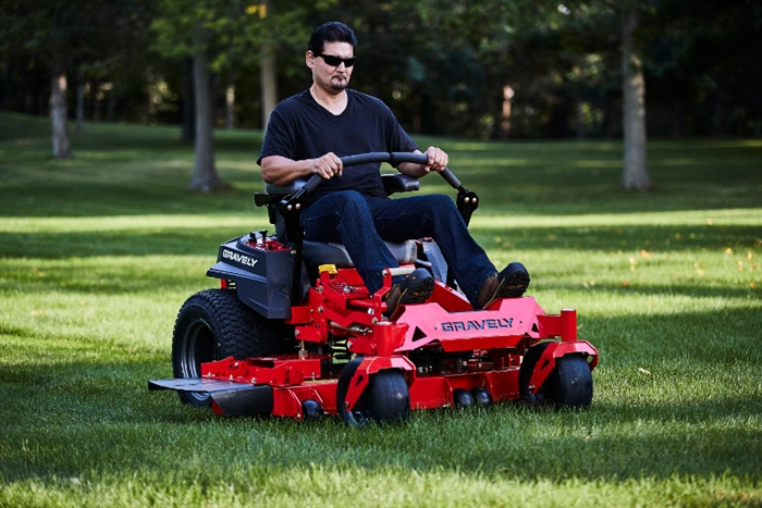 how to start a gravely lawn mower