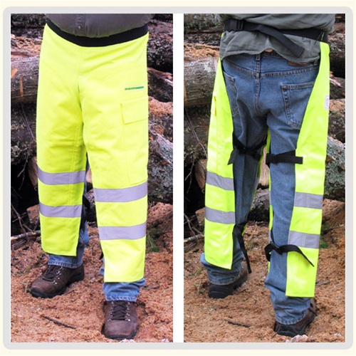 Forester Hi Vis Chainsaw Chaps